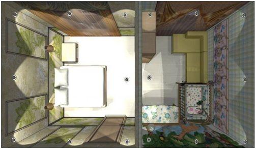 схема квартира