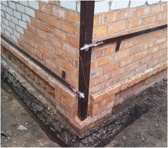 укрепление стен