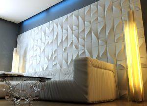 Гипсовые панели на стену