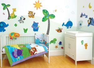 стена в детской