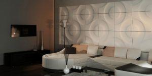 Применение акриловых панелей для стен