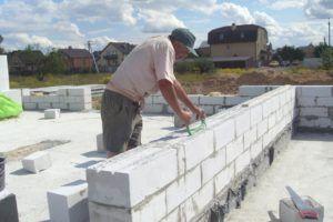 Размер пеноблока для стен