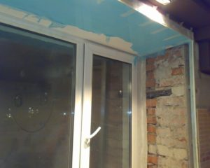 стена окно