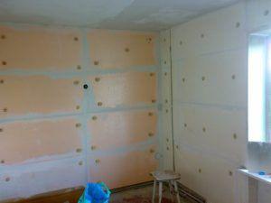 Утепление стен в угловой квартире изнутри