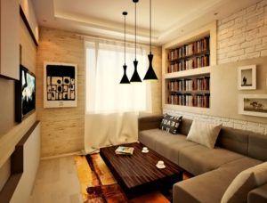 гостиная стены