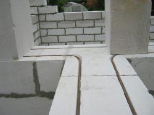 газобетон стены