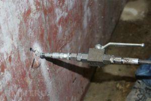 инъекция гидроизолятора