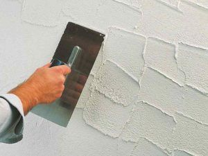 шпатель стена