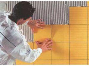 Приемы кладки кафеля на различные краски
