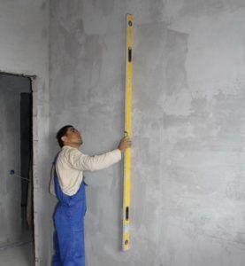 подготовить стену под шпаклевку