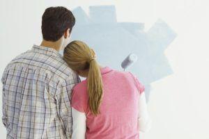 краска стены