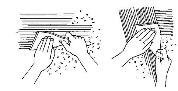 нанесение шпатлевки