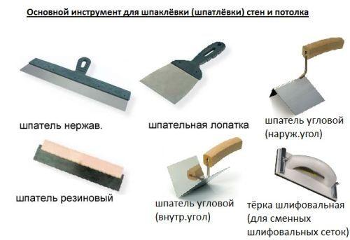 основной инструмент