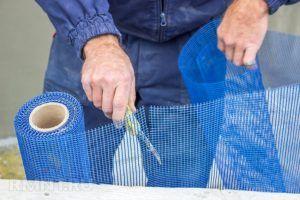 Армирующая сетка из стекловолокна