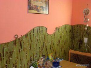 стена бамбуковая