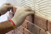 Как положить гипсовую плитку на стену