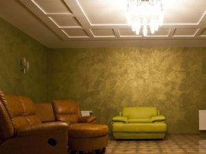 Краска для стен с эффектом песка