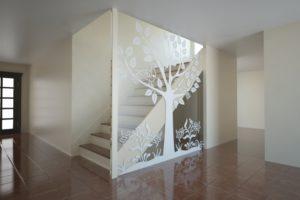 оргстекло лестница