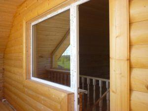 блок-хаус балкон