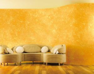 Покраска стен венецианской штукатуркой