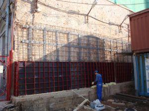 ремонт стены