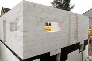 стена из пеноблока