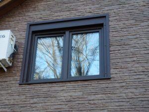 окно снаружи