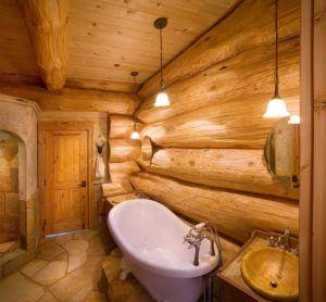 Устройство гидроизоляции деревянных стен в ванной