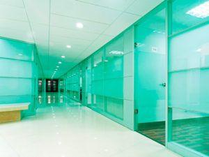 офис стекло