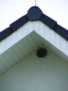 под крышей