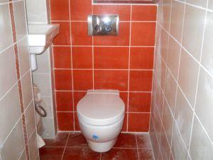 Варианты отделки стен в туалете