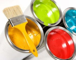краска отделка