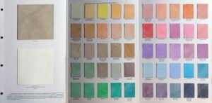 цвета отделки