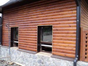 блок-хаус фасад