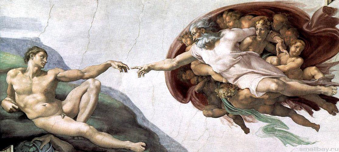 фреска Микеланджело
