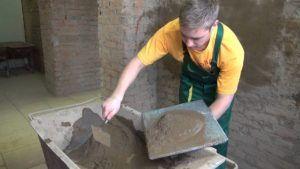 гипсовая или цементная штукатурка