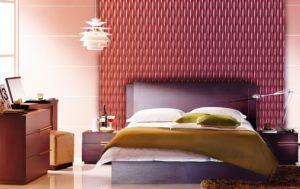 отделать стены в спальне