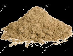 песок зернистость