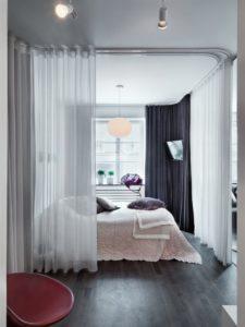 зона спальни