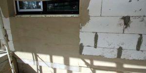 стена покрытая