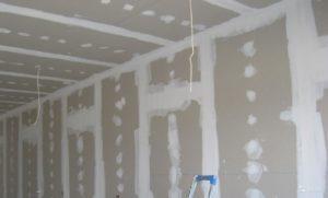 штукатурка и гипсокартон для стен