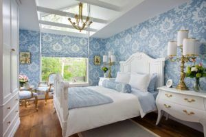 спальня голубой