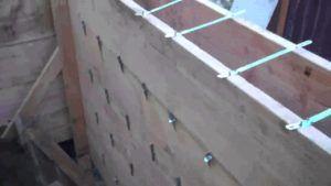 стеновая опалубка,