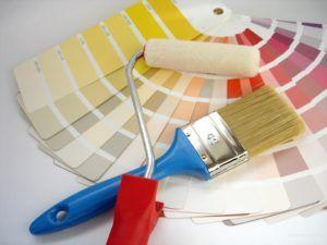 валик для покраски стен