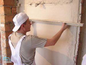 выровнять стену