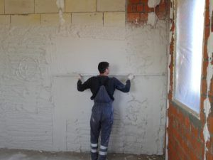 выровнять стенки