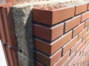 Трехслойная конструкция стены с утеплителем