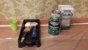 Инструменты, краска и клей