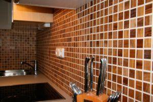Отделка деревянной мозаикой