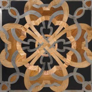 Орнамент из деревянного декора